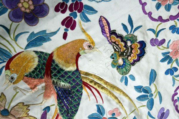 Colcha o tapiz antiguo