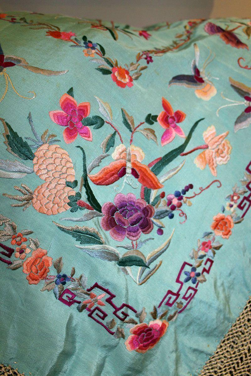 Mantón de manila de gitana