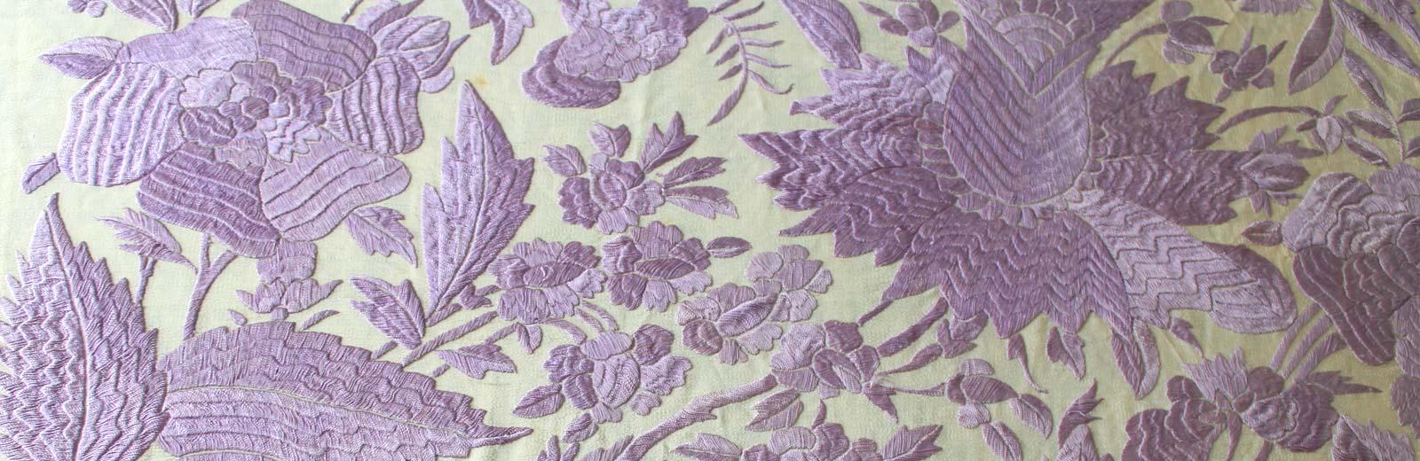 Mantón de manila antiguo