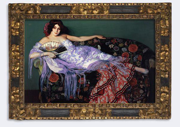 Pintura de Ignacio de Zuloaga